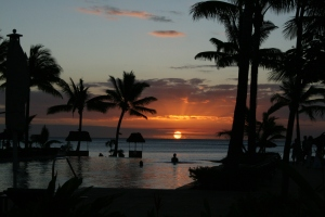 Photo of the Week: A Mauritian Sunset