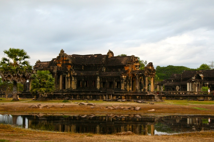 Reflections of Angkor Wat, Cambodia
