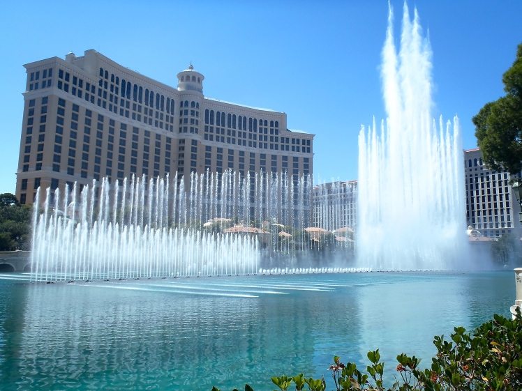 Bellagio Fountain, Las Vegas, USA