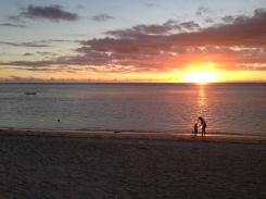 A Mauritian Sunset