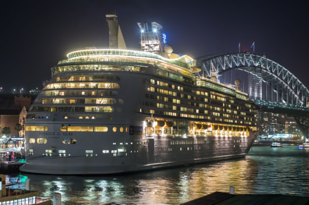 Voyager of the Seas. Image Courtesy of Thomas Cook