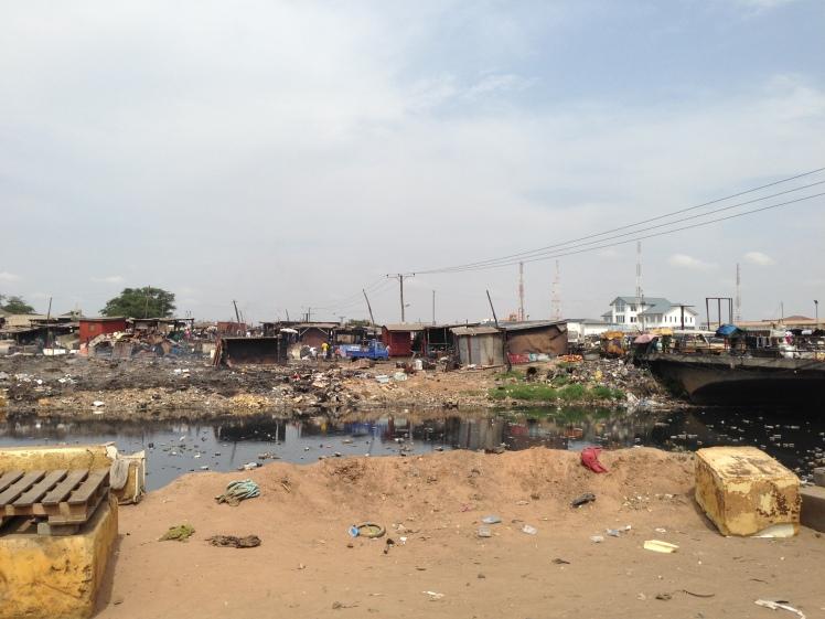 The Agbogbloshie Slum
