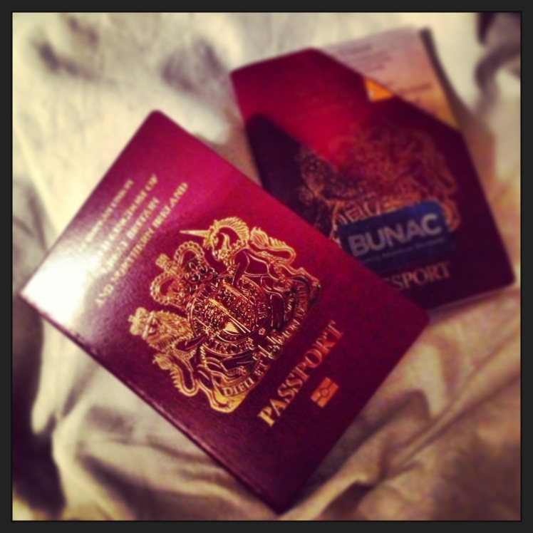 New Passport...let the adventures begin!
