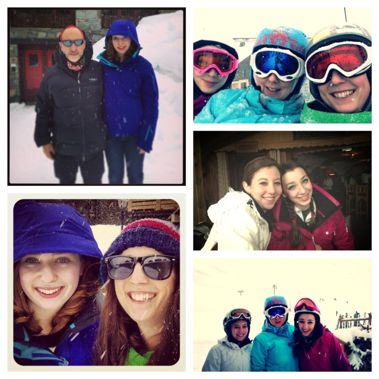 Foster Family Skiing