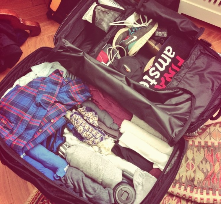 All packed and ready to go!