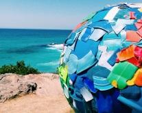 sea bondi plastic globe world
