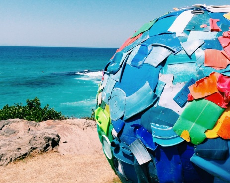 sea bondi plastic globe world