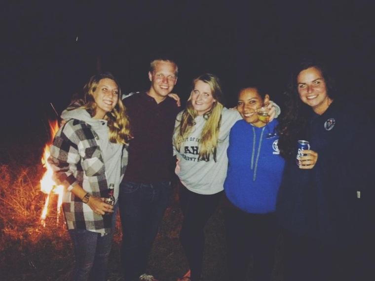 Travel camp friends