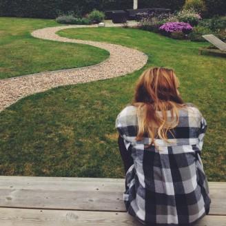 life pondering grass garden