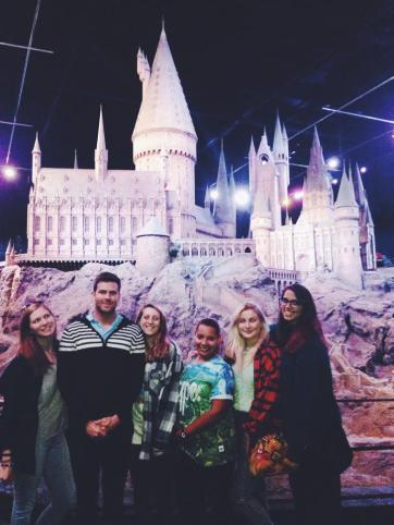 hogwarts harry potter studios