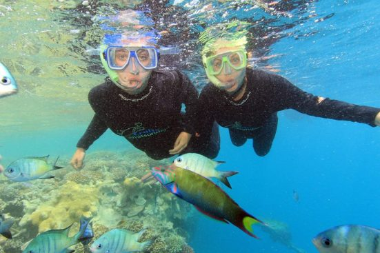 Nomadic Backpacker Travel Snorkel Australia