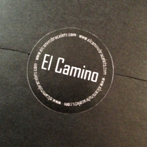 El Camino travel bracelet