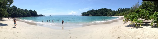 This incredible beach Manuel Antonio