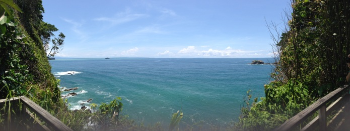 This view Manuel Antonio