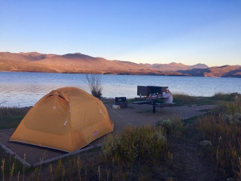 Lake campground