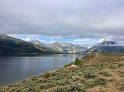 The view at Twin Lakes