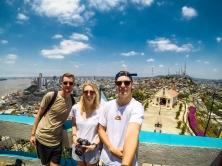 Exploring the city Guayaquil Ecuador