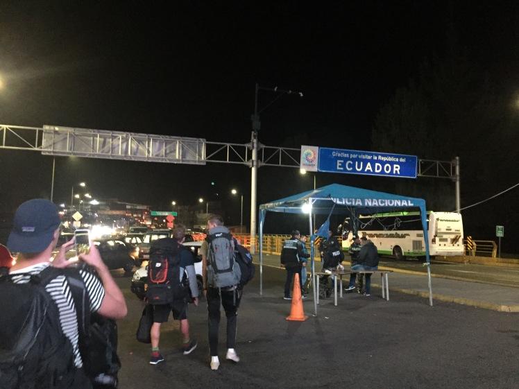 Ecuador Border Crossing