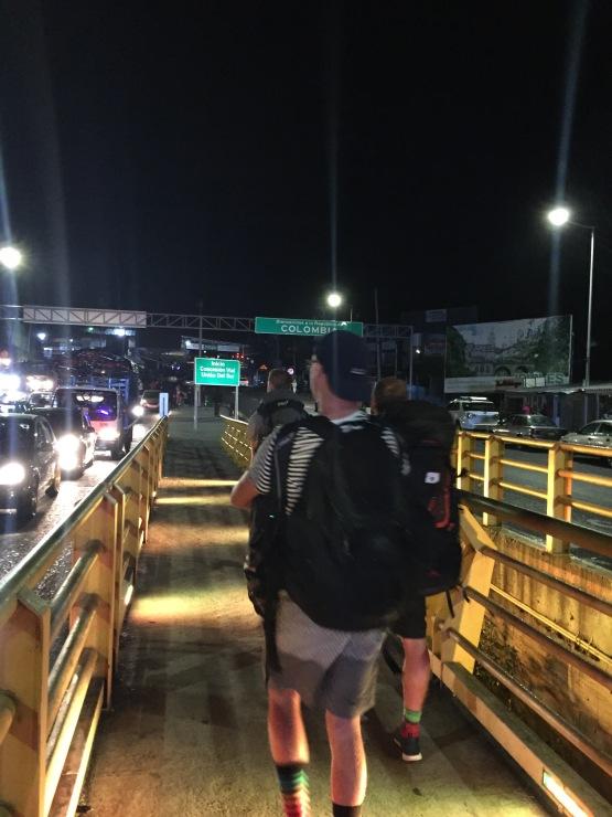Colombia border crossing