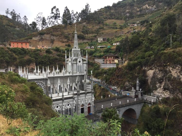 Las Lajas Ipiales Ecuador