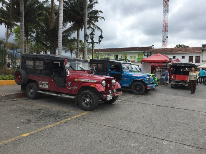 Salento, Colombia Jeeps