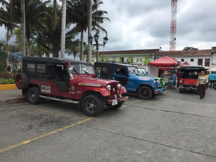Salento, Colombia Jeeps
