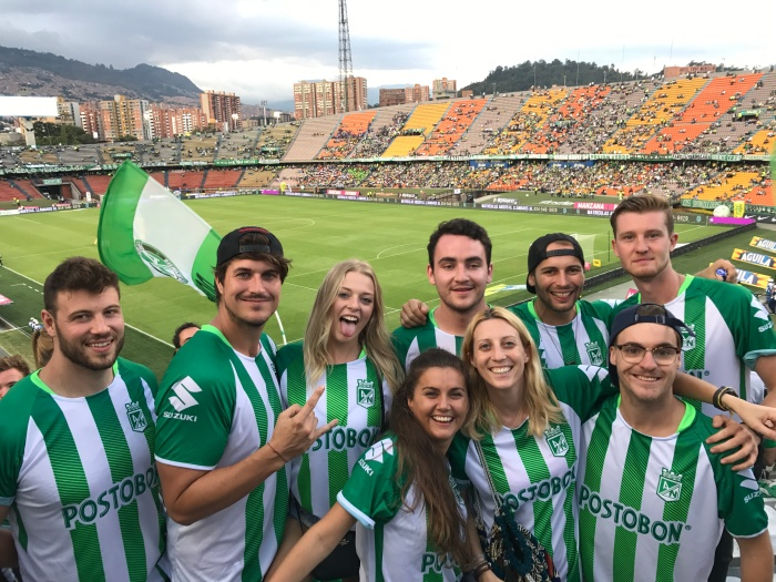 Football match Atletico nacional