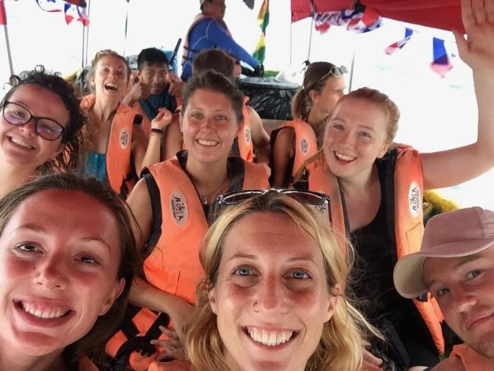 San Blas islands boat crew