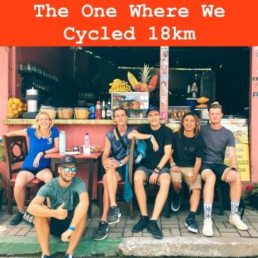 Friends who cycle Ecuador