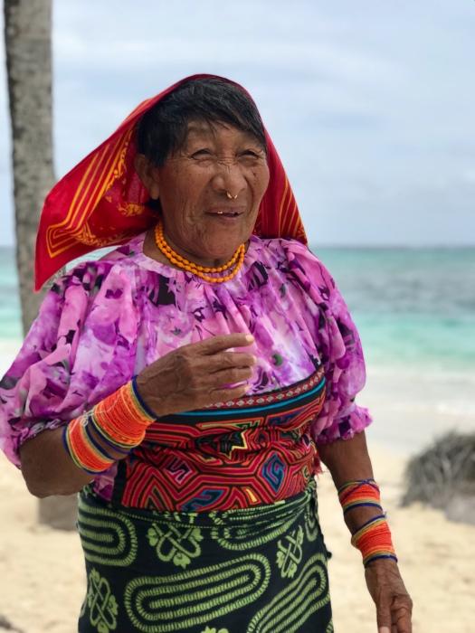 Kuna woman San Blas Islands