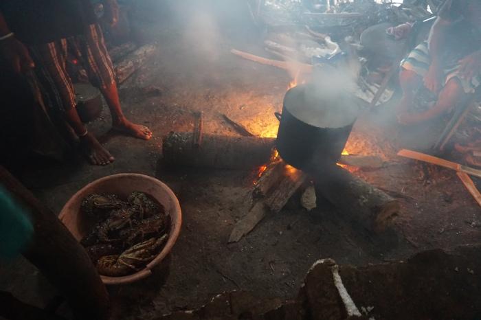San Blas Islands cooking